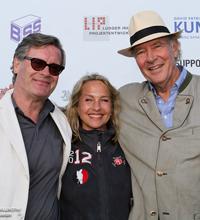 Dirk Gädeke (hier mit Ehefrau Sylvia und Hans Albrecht von Maltzahn, DPV Präsident a.D. und DPV Ehrenpräsident) passives Mitglied